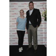 Scarlett Johanssen and Wayne Elsey of Soles4Souls