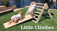 River- slide climbing